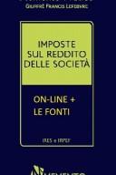 Memento Imposte sul reddito delle società ON-LINE + LE FONTI