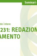 Seminario di specializzazione Modello 231: redazione e aggiornamento