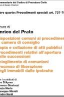 Disposizioni comuni ai procedimenti in camera di consiglio; copia e collazione di atti pubblici;procedimenti relativi all'apertura delle successioni