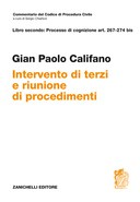 INTERVENTO DI TERZI E RIUNIONE DI PROCEDIMENTI ART. 267-274 bis  2018