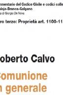 COMUNIONE IN GENERALE ART. 1100-1116 LIBRO TERZO: PROPRIETA'