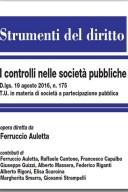 il controllo nelle società pubbliche 2017