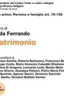 MATRIMONIO Artt. 79-158 2017 Commentario al Codice Civile
