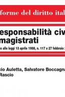Responsabilità del magistrato