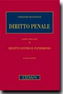 Diritto penale. Parte speciale II: Delitti contro il patrimonio. 7° ed. 2018