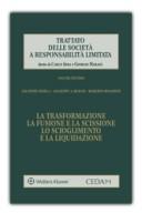La trasformazione, la fusione e la scissione, lo scioglimento e la liquidazione Vol.VII