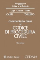 Commentario breve al Codice di Procedura civile 2018