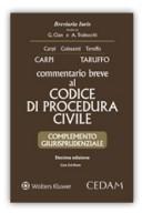Commentario breve al Codice di Procedura civile - Complemento giurisprudenziale con CD-Rom 2017