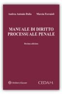 Manuale di diritto processuale penale 2018