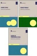 KIT 3 Codici annotati con giurisprudenza: Codice Civile + Codice Penale + Codice di Procedura Civile