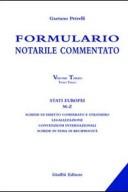 Formulario notarile commentato. Volume III - Tomo III - Stati Europei M-Z - 9788814103650 - 2003