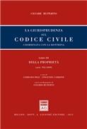 Libro III Artt. 952-1099 della proprietà