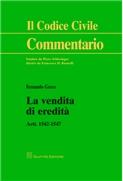 La vendita di eredità artt.1542-1547