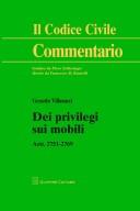 Dei privilegi su mobili artt. 2751 - 2769