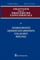 Tratatto delle procedure concorsuali vol. IV Concordato preventivo