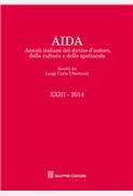 Annali italiani del diritto d'autore, della cultura e dello spettacolo - Volume XXIII 2014