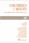 Concorrenza e mercato 2015: antitrust, regulation, consumer welfare, intellectual property.