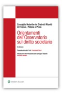 Orientamenti dell'osservatorio sul diritto societario 2016