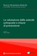 La valutazione delle aziende sottoposte a misure di prevenzione