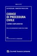 Codice di procedura civile e norme complementari