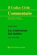 La remissione del debito artt 1236-1240
