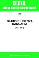 Giurisprudenza bancaria 2016-2017