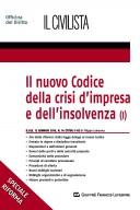 Il nuovo codice della crisi d'impresa e dell'insolvenza (I)
