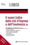 Il nuovo codice della crisi d'impresa e dell'insolvenza (II)