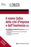 Il nuovo codice della crisi d'impresa e dell'insolvenza (IV)