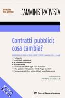 Contratti pubblici: cosa cambia
