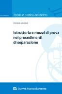 Istruttoria e mezzi di prova nei procedimenti di separazione
