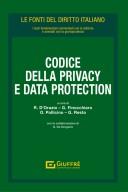 CODICE DELLA PRIVACY E DATA PROTECTION