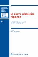 La nuova urbanistica regionale