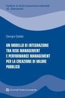 Un modello di integrazione tra risk management e performance management per la creazione di valore pubblico