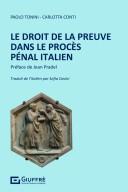 Le droit de la preuve dans de procès pénal italien
