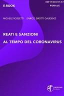 Reati e sanzioni al tempo del coronavirus
