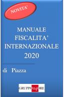 Manuale fiscalità internazionale 2020