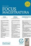 Focus magistratura n. 1