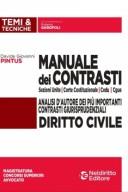 Manuale dei contrasti - Diritto Civile:sezioni unite,corte costituzionale,CEDU,CGUE