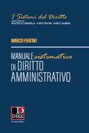 Manuale sistematico di diritto amministrativo