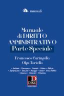 Manuale di diritto amministrativo - parte speciale
