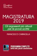 Magistratura 2019 Gli argomenti più attuali per le prove scritte