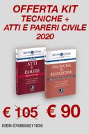 Kit Tecniche di redazione - Atti e pareri civile
