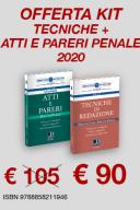 Kit Tecniche di redazione - Atti e pareri penale
