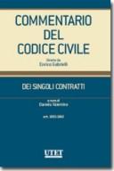 Commentario del codice civile dei singoli contratti - vol. III: artt. 1803-1860 c.c.