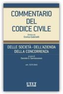 DELLA SOCIETA' – DELL'AZIENDA – DELLA CONCORENZA – Vol. V (Artt. 2575 - 2642 c.c.)