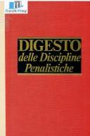 Digesto Disciplina Penalistica - undicesimo aggiornamento
