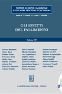 Trattato di diritto fallimentare. Gli effetti del fallimento. Volume 3°