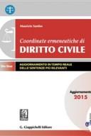 Coordinate ermeneutiche di diritto civile aggiornamento 2015