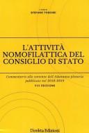 Attività nomofilattica del consiglio di stato